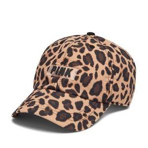 Victoria's Secret Pink Leopard Baseball Cap